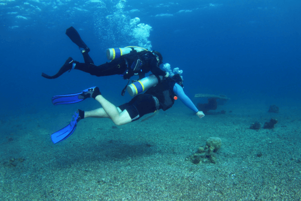 Tips to Save Air While Diving